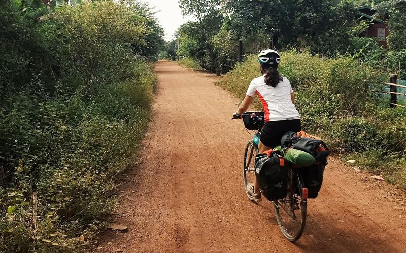 En bicicleta por Laos