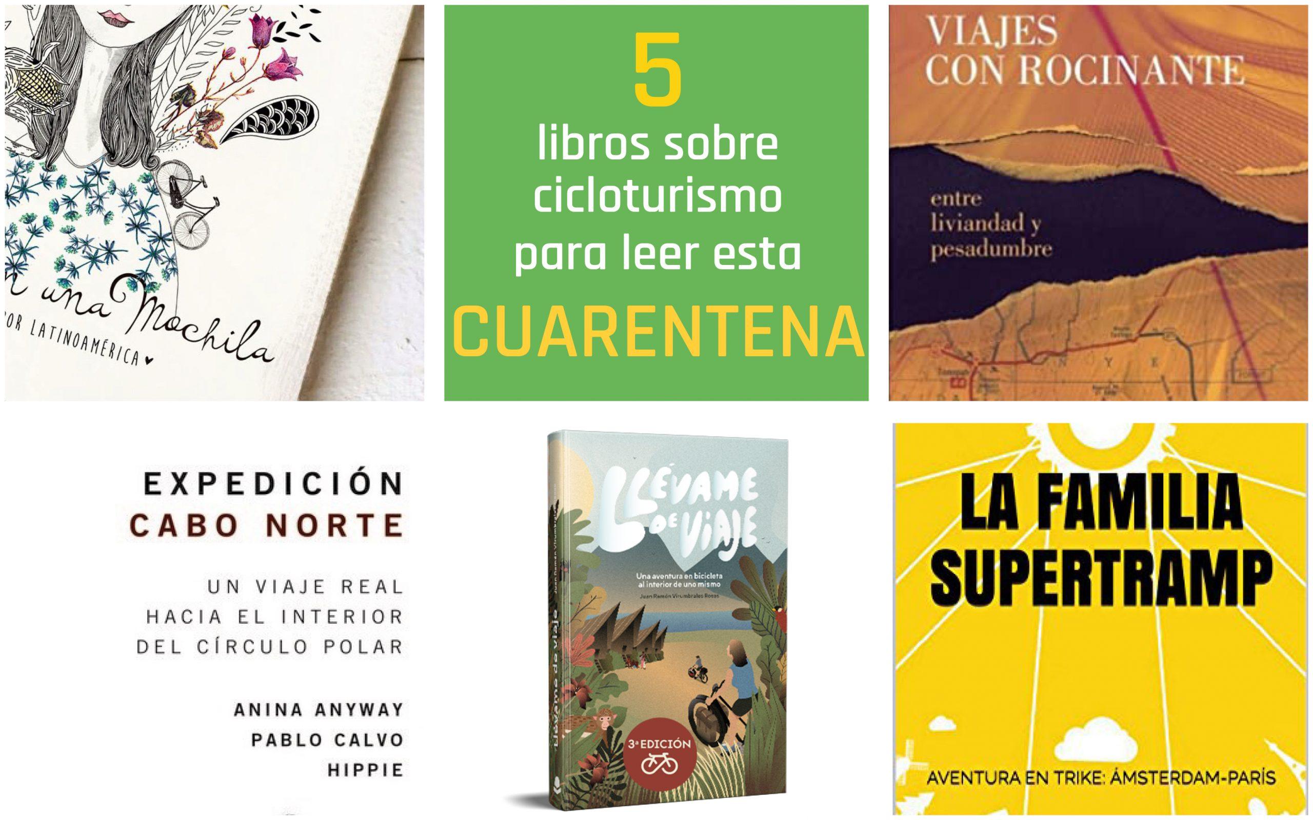 Cinco ideas de libros sobre cicloturismo