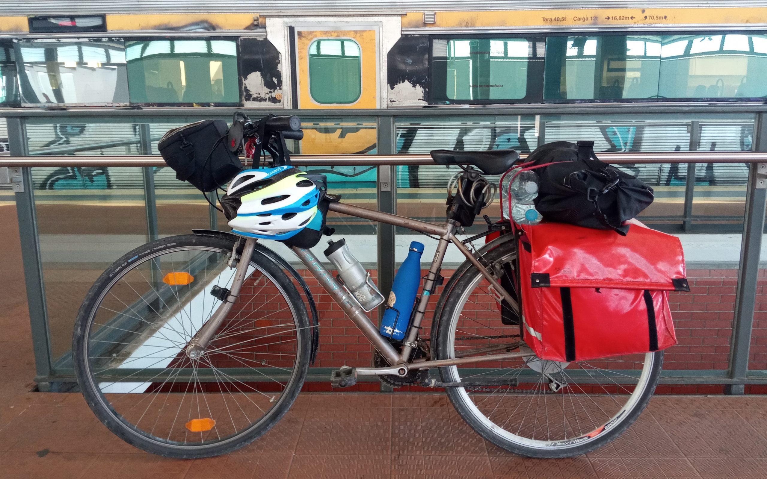 Cómo llevar tu bicicleta en transporte público por Portugal