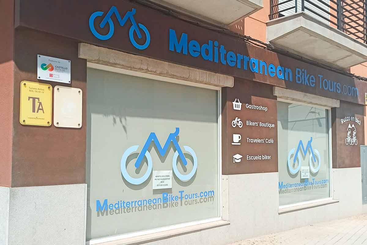 Tienda de Mediterranean Bike Tours.