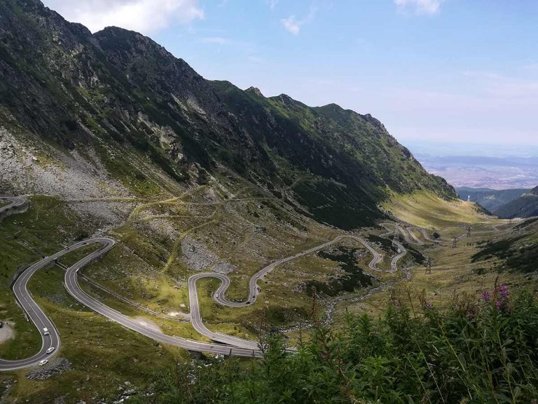 La carretera de Transfăgărășan