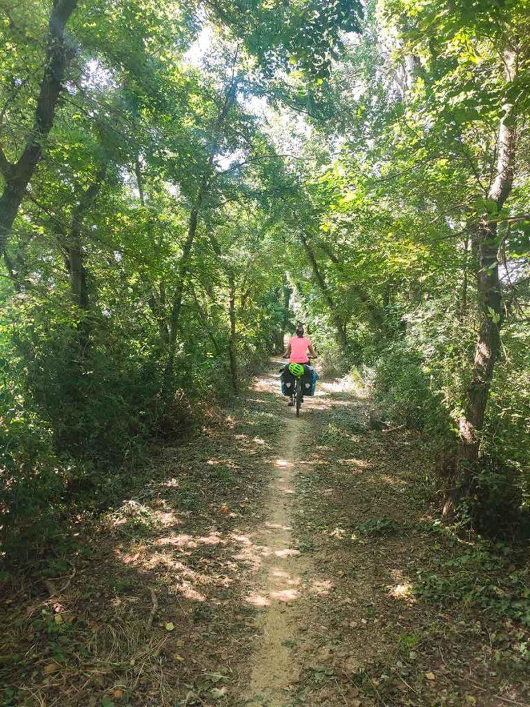 Cicloturismo por la Pirinexus
