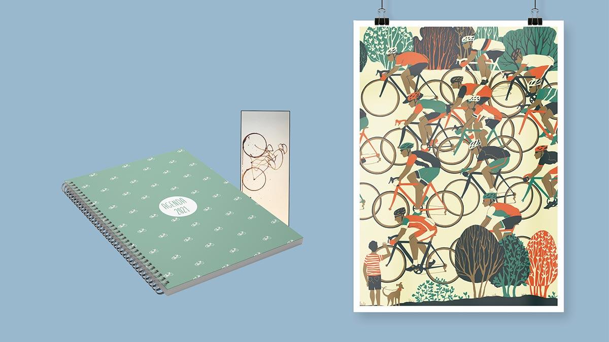 Packs Agenda 2021 Viajera y Ciclista.