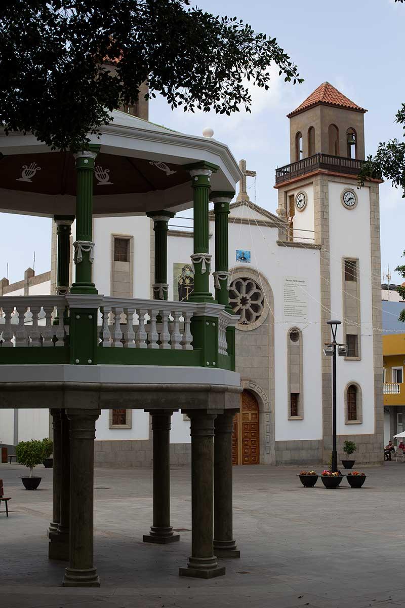 Casco histórico de la Aldea de San Nicolás.