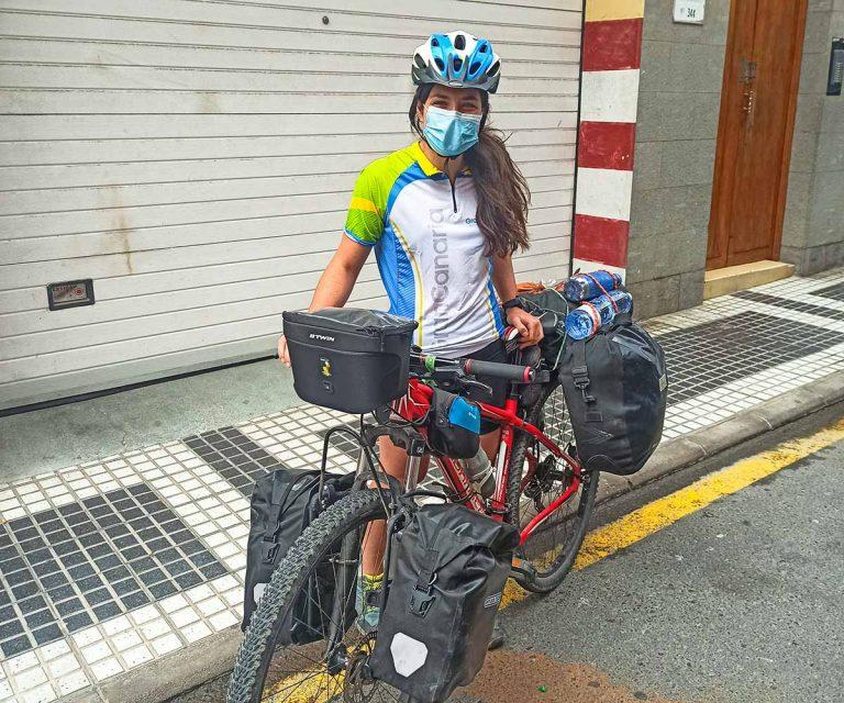 Viaje en bicicleta por Gran Canaria.