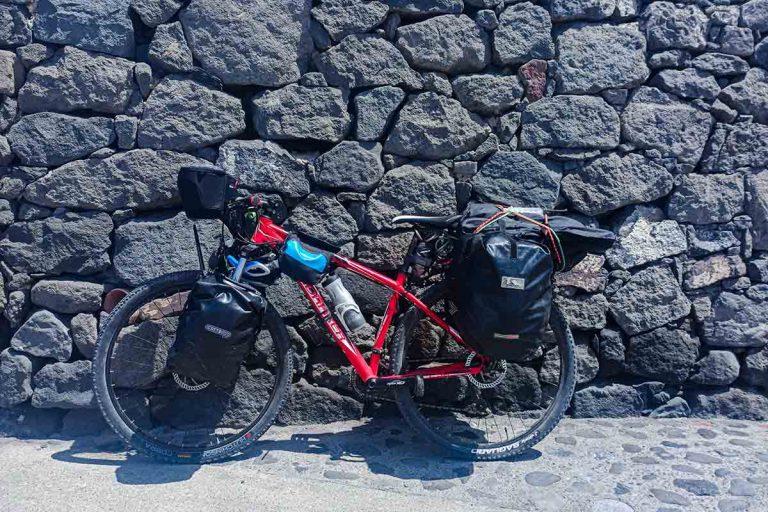 Viajar en bicicleta por Gran Canaria.