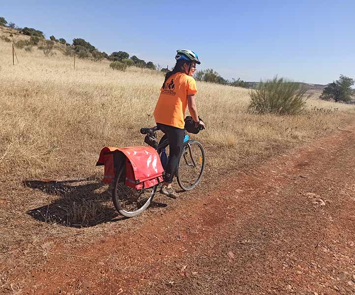Viaje en bicicleta por Castilla La Mancha.