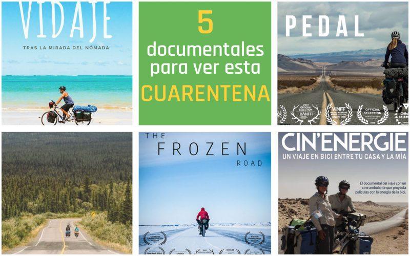 Cinco documentales sobre cicloturismo