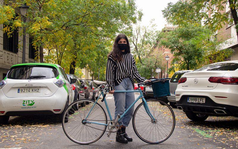 Hace muchos años que no monto en bicicleta.