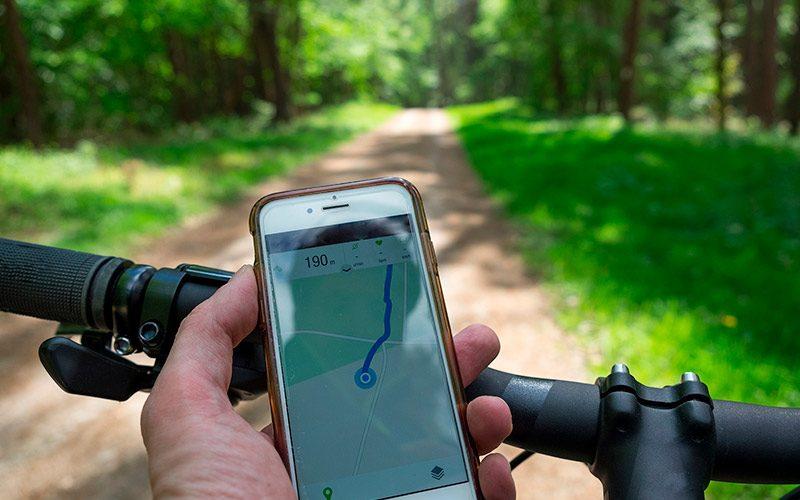 Aplicaciones para cicloturismo