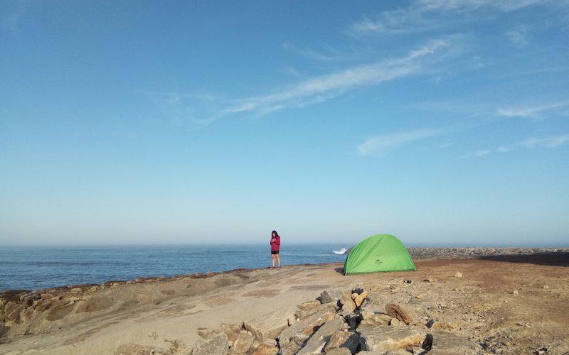 Un lugar perfecto para acampar